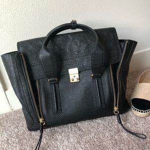 3.1 Phillip Lim pashli blk Large satchel bag